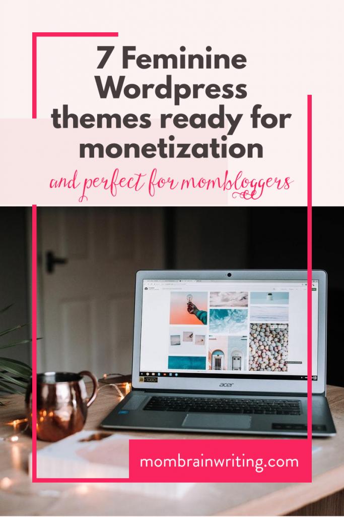 Feminine WordPress Themes for Monetization