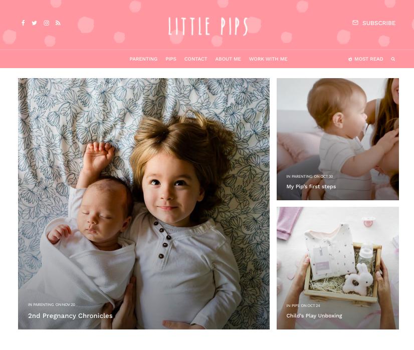 Zeen baby wordpress theme for the adsense moms