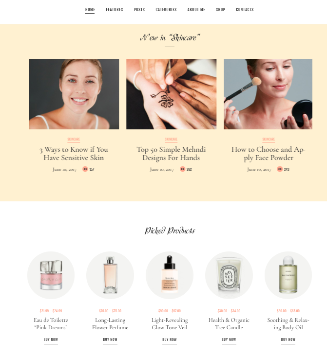 Glam Chic: For the beauty niche moms