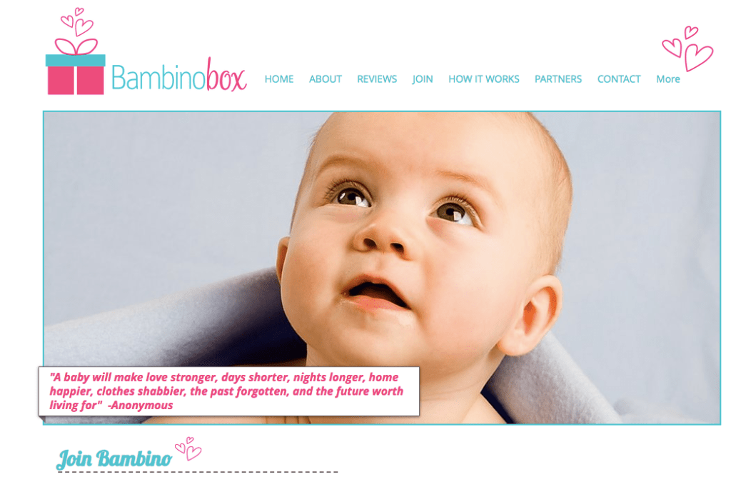 bambino subscription boxes for moms and babies for under $30