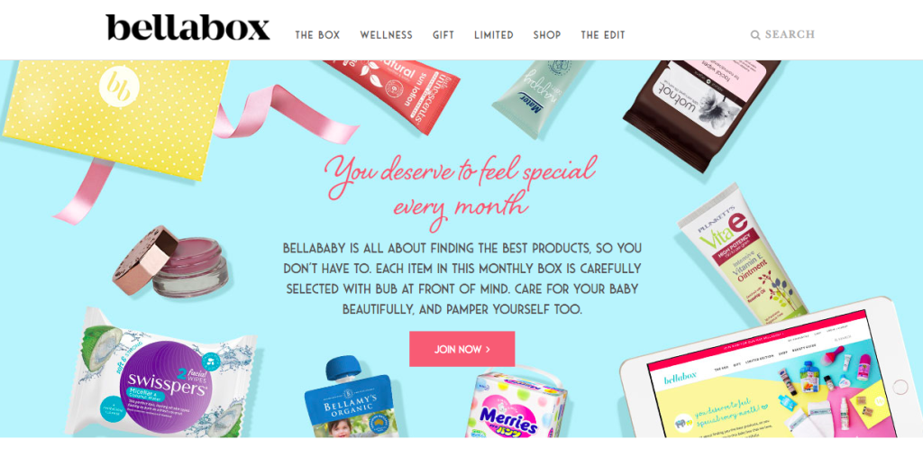 Bellabox: subscription boxes for moms and babies for under $30