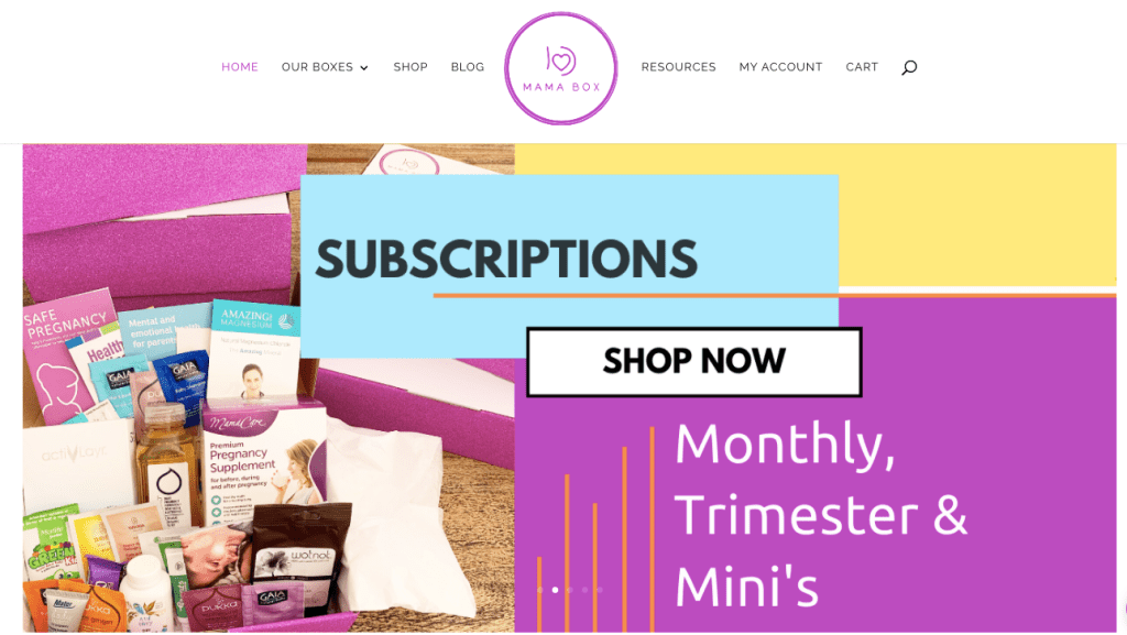mamabox subscription boxes for moms and babies for under $30
